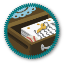 Drawer Novel Merit Badge